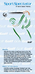 SportSpectator guide to golf