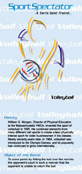 SportSpectator guide to volleyball